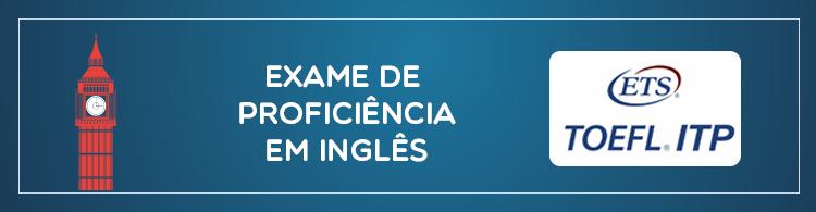 Alunos e servidores podem realizar exame de proficiência em Inglês
