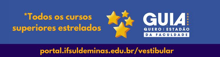 Mais uma avaliação positiva: nossos cursos estrelados no Guia Estadão!