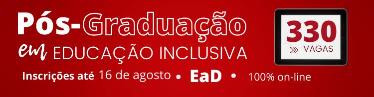 Saiba mais sobre a Pós-graduação em Educação Inclusiva!