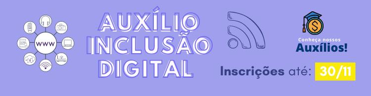 Auxílio Inclusão Digital para alunos do IFSULDEMINAS